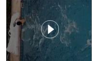 无边际游泳池视频