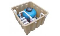 爱克 AQUA 地埋式一体机 UR-25 UR-25T泳池一体化过滤设备